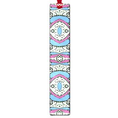 Aztec Style Pattern In Pastel Colors Large Bookmark