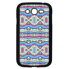 Aztec Style Pattern In Pastel Colors Samsung Galaxy Grand Duos I9082 Case (black) by dflcprints