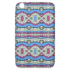Aztec Style Pattern In Pastel Colors Samsung Galaxy Tab 3 (8 ) T3100 Hardshell Case  by dflcprints