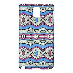 Aztec Style Pattern In Pastel Colors Samsung Galaxy Note 3 N9005 Hardshell Case by dflcprints