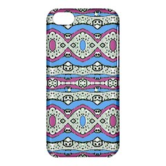 Aztec Style Pattern In Pastel Colors Apple Iphone 5c Hardshell Case by dflcprints
