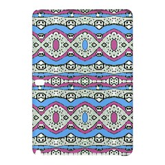 Aztec Style Pattern In Pastel Colors Samsung Galaxy Tab Pro 12 2 Hardshell Case by dflcprints
