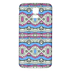 Aztec Style Pattern In Pastel Colors Samsung Galaxy S5 Back Case (white) by dflcprints
