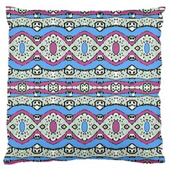 Aztec Style Pattern In Pastel Colors Standard Flano Cushion Case (two Sides)