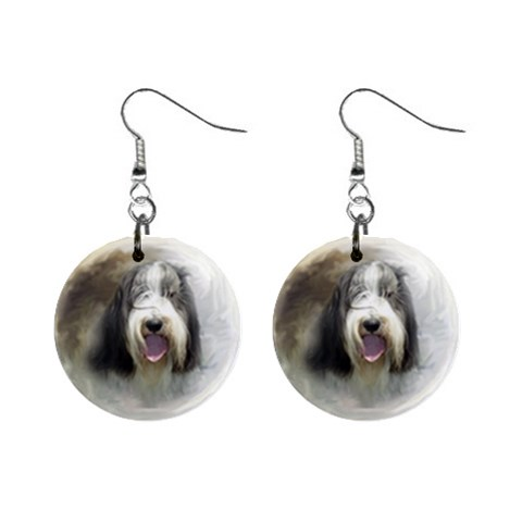Moon Dog By Nicole   1  Button Earrings   Afgjpgr3ymm4   Www Artscow Com Front