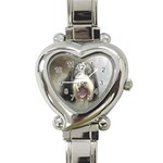 Moon-Dog - Heart Italian Charm Watch