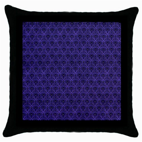 Haunted Mansion Pillow By Marcia   Throw Pillow Case (black)   Asx5m0cv0qx6   Www Artscow Com Front