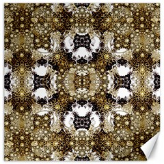 Baroque Ornament Pattern Print Canvas 16  X 16  (unframed) by dflcprints