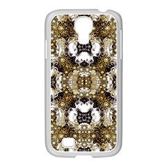 Baroque Ornament Pattern Print Samsung Galaxy S4 I9500/ I9505 Case (white) by dflcprints