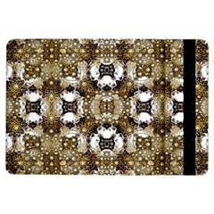 Baroque Ornament Pattern Print Apple iPad Air Flip Case by dflcprints
