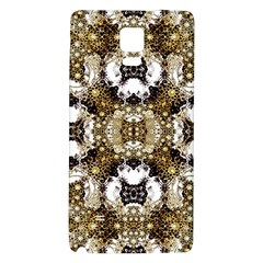 Baroque Ornament Pattern Print Samsung Note 4 Hardshell Back Case by dflcprints