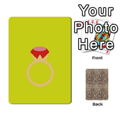 Card By X   Playing Cards 54 Designs (rectangle)   Kydtt3kvpfny   Www Artscow Com Front - Heart3