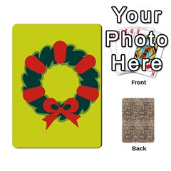Card By X   Playing Cards 54 Designs (rectangle)   Kydtt3kvpfny   Www Artscow Com Front - Club5