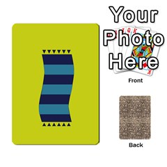 Card By X   Playing Cards 54 Designs   Kydtt3kvpfny   Www Artscow Com Front - Club7