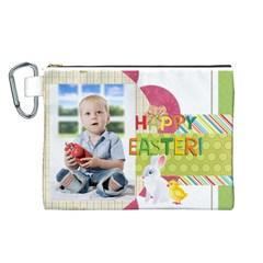 Easter By Easter   Canvas Cosmetic Bag (large)   Rgcvdbcfs478   Www Artscow Com Front