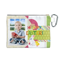 Easter By Easter   Canvas Cosmetic Bag (large)   Rgcvdbcfs478   Www Artscow Com Back