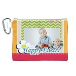 easter - Canvas Cosmetic Bag (Large)