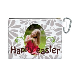 Easter By Easter   Canvas Cosmetic Bag (large)   Djd5roe0xhf2   Www Artscow Com Back