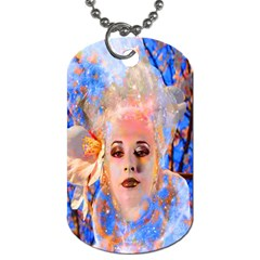 Magic Flower Dog Tag (two Sided)  by icarusismartdesigns
