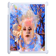 Magic Flower Apple Ipad 2 Case (white) by icarusismartdesigns