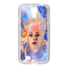 Magic Flower Samsung Galaxy S4 I9500/ I9505 Case (white) by icarusismartdesigns