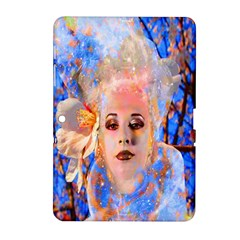 Magic Flower Samsung Galaxy Tab 2 (10 1 ) P5100 Hardshell Case  by icarusismartdesigns