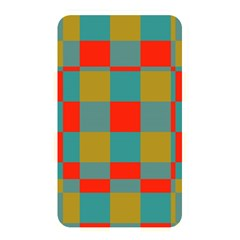 Squares In Retro Colors Memory Card Reader (rectangular) by LalyLauraFLM