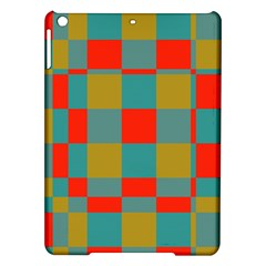 Squares In Retro Colors Apple Ipad Air Hardshell Case by LalyLauraFLM