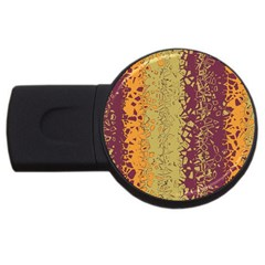 Scattered Pieces Usb Flash Drive Round (2 Gb) by LalyLauraFLM