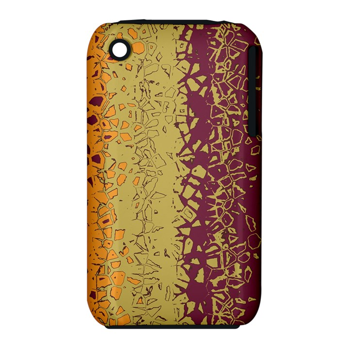 Scattered pieces Apple iPhone 3G/3GS Hardshell Case (PC+Silicone)