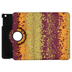 Scattered Pieces Apple Ipad Mini Flip 360 Case by LalyLauraFLM