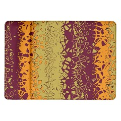 Scattered Pieces Samsung Galaxy Tab 10 1  P7500 Flip Case by LalyLauraFLM