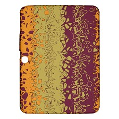 Scattered Pieces Samsung Galaxy Tab 3 (10 1 ) P5200 Hardshell Case