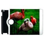3pinkflamingos Apple iPad 3/4 Flip 360 Case Front