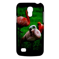 3pinkflamingos Samsung Galaxy S4 Mini (gt I9190) Hardshell Case  by bloomingvinedesign