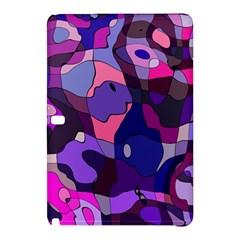 Blue Purple Chaos Samsung Galaxy Tab Pro 10 1 Hardshell Case by LalyLauraFLM