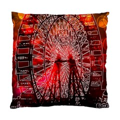 Vintage 1893 Chicago Worlds Fair Ferris Wheel Cushion Case (single Sided)  by bloomingvinedesign