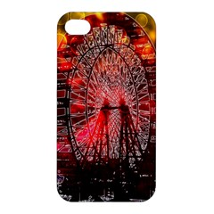Vintage 1893 Chicago Worlds Fair Ferris Wheel Apple Iphone 4/4s Hardshell Case by bloomingvinedesign