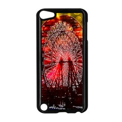 Vintage 1893 Chicago Worlds Fair Ferris Wheel Apple Ipod Touch 5 Case (black) by bloomingvinedesign