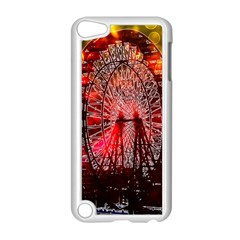 Vintage 1893 Chicago Worlds Fair Ferris Wheel Apple Ipod Touch 5 Case (white) by bloomingvinedesign