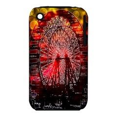 Vintage 1893 Chicago Worlds Fair Ferris Wheel Apple Iphone 3g/3gs Hardshell Case (pc+silicone) by bloomingvinedesign