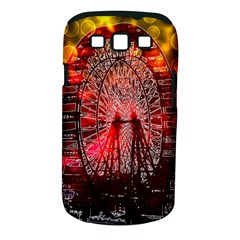 Vintage 1893 Chicago Worlds Fair Ferris Wheel Samsung Galaxy S Iii Classic Hardshell Case (pc+silicone) by bloomingvinedesign