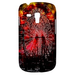 Vintage 1893 Chicago Worlds Fair Ferris Wheel Samsung Galaxy S3 Mini I8190 Hardshell Case by bloomingvinedesign