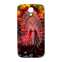 Vintage 1893 Chicago Worlds Fair Ferris Wheel Samsung Galaxy S4 I9500/i9505  Hardshell Back Case by bloomingvinedesign