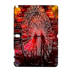 Vintage 1893 Chicago Worlds Fair Ferris Wheel Samsung Galaxy Note 10 1 (p600) Hardshell Case by bloomingvinedesign
