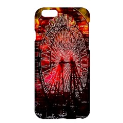 Vintage 1893 Chicago Worlds Fair Ferris Wheel Apple Iphone 6 Plus Hardshell Case by bloomingvinedesign
