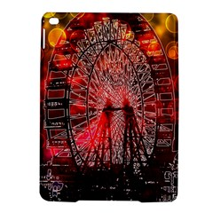 Vintage 1893 Chicago Worlds Fair Ferris Wheel Apple Ipad Air 2 Hardshell Case by bloomingvinedesign