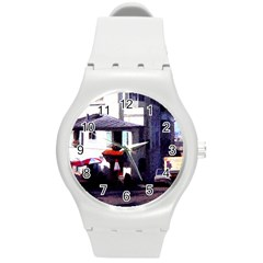 Vintage Paris Cafe Plastic Sport Watch (medium) by bloomingvinedesign