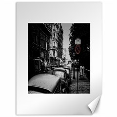 Vintage Paris Street Canvas 36  X 48  (unframed) by bloomingvinedesign
