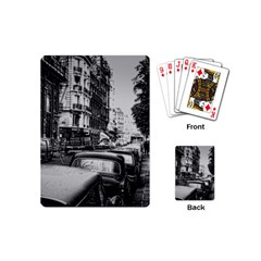 Vintage Paris Street Playing Cards (mini) by bloomingvinedesign